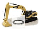 Anneau de pivotement d'excavatrice/roulement oscillation de Caterpillar E307c