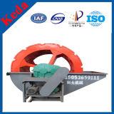 Lavadora de la arena del compartimiento de la rueda