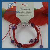 Carte de empaquetage de collier blanc de PVC (CMG-051)