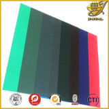 Твердый PVC Sheets Colorful Glossy с PE Masking