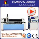 Heiße Verkäufe 500 Watt-Metallblatt-Faser-Laser-Ausschnitt-Maschine