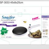 Crepe 제작자 또는 Krep Tavasi 또는 비 팬을 요리하는 지팡이 프라이팬 차파티 팬케이크