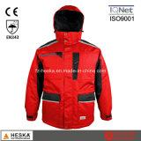 Jacket Men Segurança Cothing Inverno Parka com fita Seam