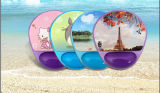 Gel transparente Mouse Pad com Many Designs
