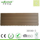 300 * 900mm Wood Polymer Compound WPC Deck Tile Sauna Board