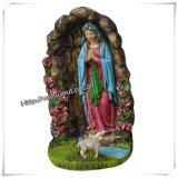 ハンドメイドの樹脂のカトリック教の宗教彫像は卸し売りする(IOca057)