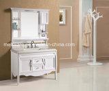 Шкаф зеркала ванной комнаты PVC шкафа ванной комнаты новых продуктов самомоднейший с светом