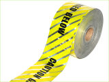 Nastro d'avvertimento rilevabile per il coperchio del cavo e rilevabile sotterranei