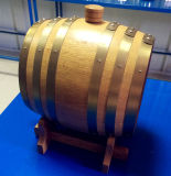 Бочонок пива нержавеющей стали 3L горячих сбываний деревянный