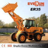 세륨을%s 가진 Qingdao Everun Machinery Er35 Construction Front End Loader