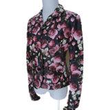 Куртки искусственной кожи повелительниц верхнего качества цветастые
