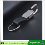 Het uitstekende kwaliteit Gevlechte Leer Keychain van Pu