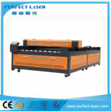 Gravura do laser do CO2 e máquina de estaca para placa acrílica/plástica/de madeira de /PVC