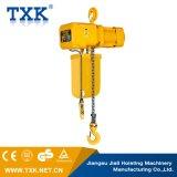 Txk grua Chain elétrica de 2 toneladas com o Ce elétrico do trole Certificated