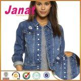 Gli accessori dell'indumento offuscano il tasto dei jeans della tibia del metallo del nichel