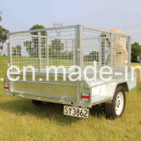 熱いDipped Galvanised 8X5 Box Tilt Trailer