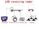LCD het Systeem van de Sensor van het Parkeren van de Auto met 4 Sensoren voor Vrachtwagen/Bestelwagen