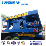 40FT Airbag Suspension Cargo Flatbed Truck Semi Trailer