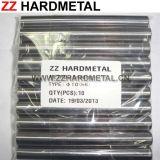 Carboneto de lustro Rod do sólido da superfície 330mm do padrão de ISO