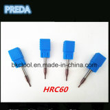 Машина електричюеских инструментов битов HRC60 CNC Preda
