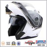 モーターバイク(LP507)のための二重バイザーが付いている専門モジュラーヘルメット