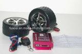 Sistema de alarma motocicletas MP3 con forma de rueda