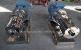D'acier inoxydable pompe élevée de mélangeur de cisaillement en ligne