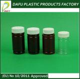 botella del plástico del animal doméstico del claro del cilindro 165ml