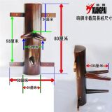 Factory Price Wing Chun Wooden Dummy pour Kongfu