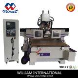 Gravador do CNC da máquina de estaca do CNC da maquinaria do CNC do eixo de Hsd