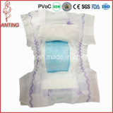 중국에 있는 최고 Grade Free Sample Nice Magic Clothlike Film Baby Diapers Factory
