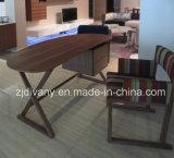 Presidenza di legno domestica moderna del sofà del tessuto di stile europeo (C-42)