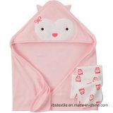 100% la toalla encapuchada hecha punto el algodón del bebé Swaddle la toalla con diseño elegante