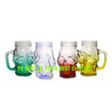 Maurer-Glas, verschiedenes geformtes Wasser Botter mit Griff
