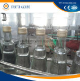 Máquina de rellenar del vino del jugo de la botella de cristal