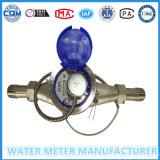 Contador del agua seco multi del pulso de dial de jet para el acero inoxidable