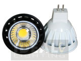 LED MR16 7W COB Spotlight 12V Black Finish