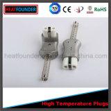 Enchufe de cerámica de alta temperatura industrial de la alta calidad