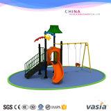 就学前の屋外のボディービル装置か振動、スライドおよび上昇の適性Euipment