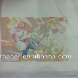 45GSM Inkjet Heat Transfer High Speed Printing Sublimation Transfer Paper Roll per Transfer Press