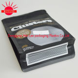 Quadratischer unterer Aluminiumfolie-Beutel für Kaffee-Verpacken- der Lebensmittelbeutel