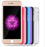 360 Protect pieno Cell Phone Caso con Tempered Glasses per il iPhone
