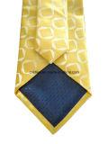 Goldene gesponnene Silk Gleichheit mit geometrischem Muster für Mann