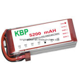 7.4V 5200mAh 45c LiFePO4 Lipo RC Battery per RC Car