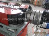 Производственная линия трубы из волнистого листового металла машины штрангпресса PVC PE PP Prestressed пластичная