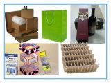 자동 종이상자, 물결 모양 판지, PVC 상자를 위한 절단기를 정지하십시오