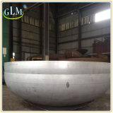 Protezione capa ellissoidale servita del tubo dell'acciaio inossidabile AISI 304