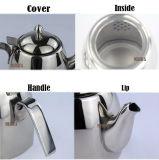 ステンレス鋼のティーセット水鍋