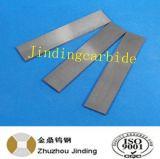 Barre plate agglomérée de carbure cimenté de tungstène pour des pièces d'outil