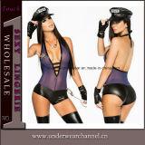 Costume uniforme d'usager de lingeries sexy adultes théâtrales de Veille de la toussaint (16001)